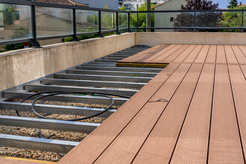 Terrassendielen Unterkonstruktion Aluminium