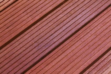 Massaranduba Holz Dielen für die Terrasse, 8,90 €/lfm, Premium (KD) grob genutet, 25 x 145 bis 6100 mm, Terrassendielen Bretter