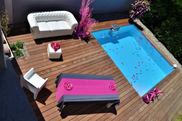 Angebot des Monats, Bangkirai Holz Dielen für die Terrasse, 8,50 €/lfm, Premium (KD) glatt, 21 x 145 bis 4880 mm, Terrassendielen Bretter