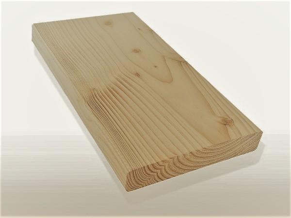 Angebot des Monats, Sibirische Lärche Holz Dielen für die Terrasse, AB Sortierung, 3,60 €/lfm, glatt, 27 x 143 bis 6000 mm, Terrassendielen Bretter