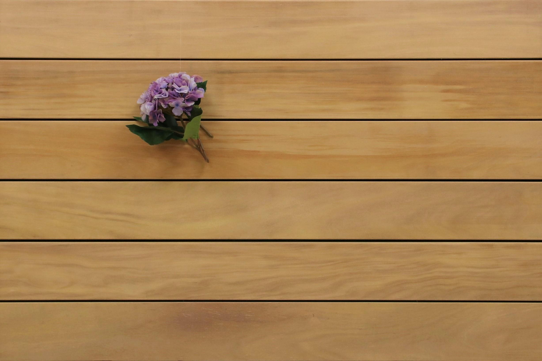 Garapa Holz Dielen für die Terrasse, 11,80 €/lfm, Premium (KD) glatt, 25 x 145 bis 6100 mm, Terrassendielen Bretter