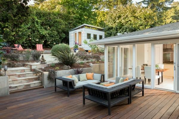 Angebot des Monats, Ipe Holz Dielen für die Terrasse, 13,90 €/lfm, Premium (KD) glatt, 21 x 145 bis 6700 mm, Terrassendielen Bretter