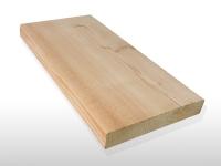 Terrassendielen Sibirische Lärche, AB Sortierung, 27 x 143 bis 6000 mm, glatt für 3,60 €/lfm