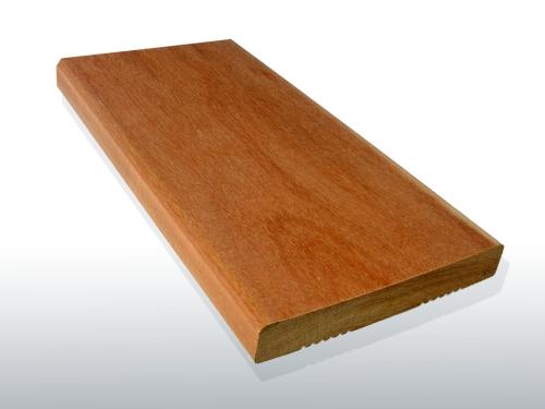 Garapa Holz Dielen für die Terrasse, 6,90 €/lfm, Premium (KD) glatt, 21 x 145 bis 6100 mm, Terrassendielen Bretter