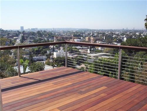 Ipe Holz Dielen für die Terrasse, 9,90 €/lfm, glatt, stirnseitig Nut / Feder Verbindung, 25 x 140 von 600 bis 2200 mm,  Terrassendielen Bretter