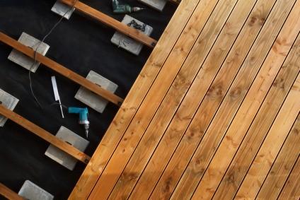 Eiche Holz Dielen für die Terrasse, 9,90 €/lfm, glatt, 25 x 140 bis 4000 mm, Sonderanfertigung, Terrassendielen Bretter