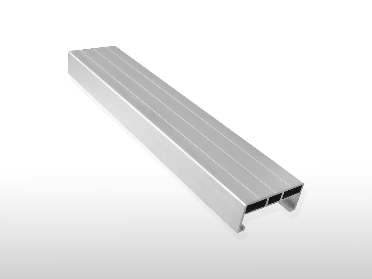 Aluminium Unterkonstruktions-Profil ca. 24 x 58 x 4000 mm für 5,90 €/m:
