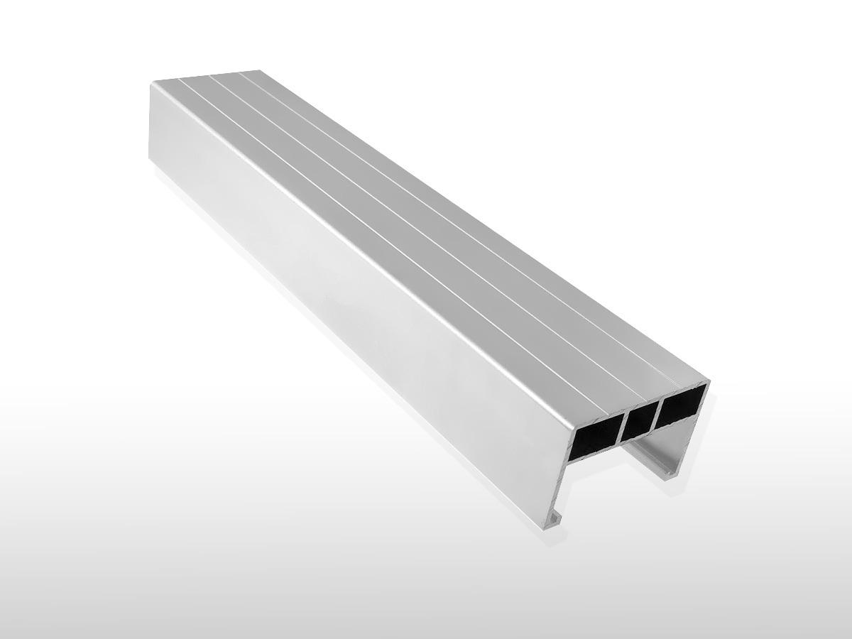 Aluminium Unterkonstruktions-Profil ca. 38 x 58 x 4000 mm für 6,90 €/m: