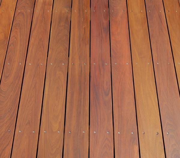 Ipe Holz Dielen für die Terrasse, 9,60 €/lfm, Premium (KD) glatt, 21 x 120 bis 6100 mm, Terrassendielen Bretter