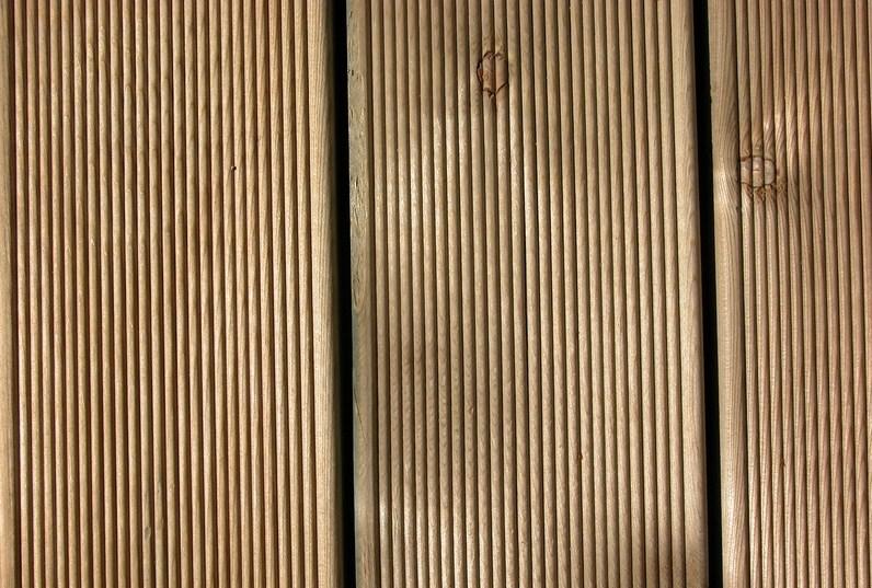 Eiche Holz Dielen für die Terrasse, 8,90 €/lfm, fein gerillt, 25 x 140 bis 4000 mm, Terrassendielen Bretter