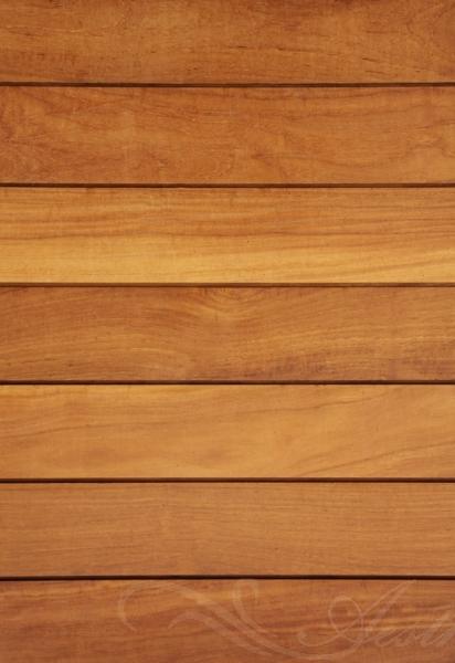 Garapa Holz Dielen für die Terrasse, 16,90 €/lfm, Premium (KD) glatt, 45 x 145 bis 6100 mm, Terrassendielen Bretter